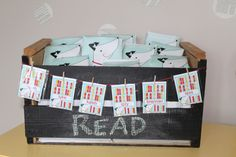 Book Swap Party by Bugger-Dixon Line - (bookplaltes & totes by Bushel + Peck Paper)