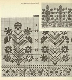 Hungarian cross stitch pattern.