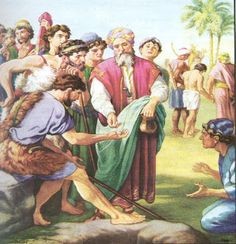 Joseph and his brothers - Joseph is sold and taken to Egypt...Genesis 37:3-4, 12-13a, 17b-28a