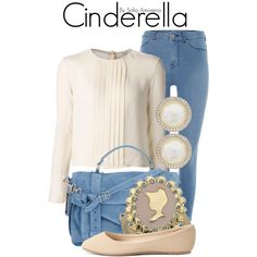 """Cinderella"" by sofiaamorena on Polyvore"