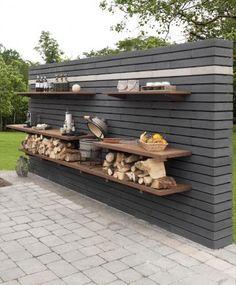 backyard design – Gardening Tips Garden Sink, Outdoor Kitchen Design, Front Yard, Outdoor Decor, Outdoor Kitchen, Garden Design, Exterior, Outdoor Kitchen Bars