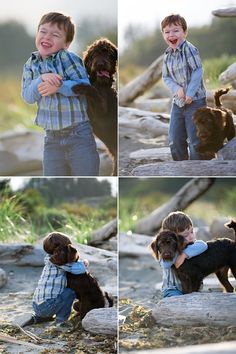 Is there anything sweeter than a child and his dog?