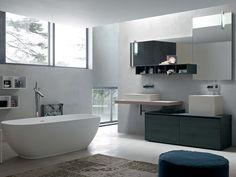 Meuble pour salle de bain / meuble sous-vasque en chêne LA FENICE - COMPOSITION 16 Collection La Fenice by Arcom
