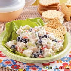 Gooseberry Patch Blueberry Chicken Salad Recipe