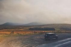 The beauty of a place is not necessarily shown in good weather only.  Photo by @gearpatrol  #gclass #scottland #roadtrip