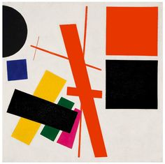 Kazimir Malevich – Abstract Composition, 1915