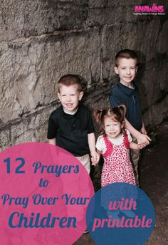 Mama we need to be prayer warriors for our children. This shouldn't be an area that we neglect or haphazardly do every once in awhile. If you don't know where to start, start with our 12 prayers to pray over your children. Printable option included!