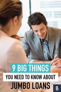 A jumbo loan is larger than the usual mortgage. Here's how to size one up. Jumbo Loans, Income Property, Get Out Of Debt, Financial Literacy, Real Estate Houses, Student Loans, Things To Know, Money Tips, Personal Finance