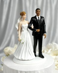 this might be the closest cake topper I have found of the both of us!