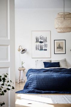 Blue Bedroom - 20 Ways To Add Indigo To Your Home - Photos