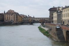 Ponte Vecchio, only bridge that survived the German Bombing From World War Two.