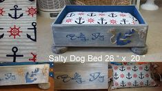 Coastal Bohemian: Salty Dog Bed