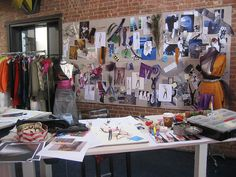 Fashion Designer's Studio by ipek_celik, via Flickr