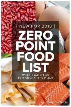 Weight Watchers Just Added a Ton of Foods to Its Zero-Points List! Make weight loss even easier with their new Freestyle Program. Popculture.com #weightloss #weightwatchers #zeropoints #dietplan #lowcaloriefood