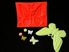Silikonform Schmetterling XL von Luflom-Design auf DaWanda.com