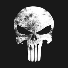 Latest in the Store: Check out this awesome classic The Punisher design here @ SGA - http://www.sogeekinawesome.com/the-punisher-minimalist-grunge/