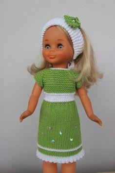 Si quieres un modelo exclusivo para tu nancy, aquí tienes muchos modelos donde elegir, modelos únicos, para que puedas vestir a tu muñeca de...
