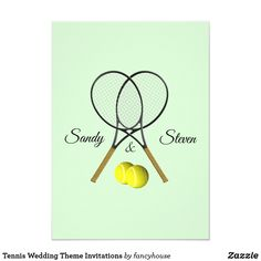Tennis Wedding Theme