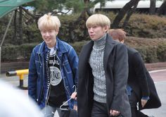 Road Boyz arriving at Music Bank by KpopMap #musicbank, #kpopmap, #roadboyz