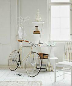 Las bicicletas y la decoración
