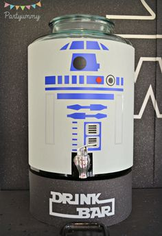 R2D2 drink dispenser