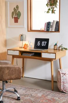 Home Desk, Home Office Space, Home Office Design, Home Office Decor, Desk Space, Office Desks For Home, Workspace Desk, Desk Setup, Office Spaces
