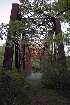 Abandoned Railway Bridge [3858 × 5787] (OC)