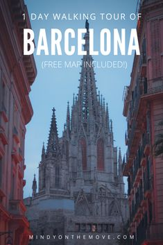 Wish to tour Barcelona in a day? Want to see many of Barcelona's hottest spots while enjoying the beautiful Mediterranean climate? My route, mapped out above, will take you to seven prime destinations on a 4.25-mile (6.85 KM) walking tour that you can complete in one day's time.  #barcelonatravel #barcelonacity #spaintravel #spain #europetravel #travelguide #traveltheworld #exploremore #travelinspiration #traveldestinations #traveltips #vacationdestinations #europetraveltips…