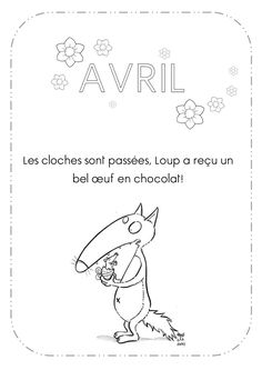 Avril petit loup Wolf, Petite Section, Craft Activities For Kids, Avril, Album, Teaching, Education, School, Banjos