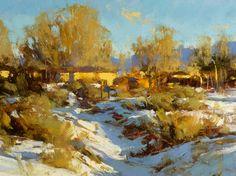 Winter in Taos New Mexico | PLEIN AIR
