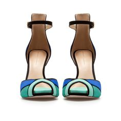 ANKLE STRAP SANDAL - Shoes - Woman   ZARA United States