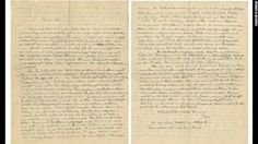 """In a letter to his son Eduard -- one of 27 that was up for auction last week -- Albert Einstein wrote about youth. """"When you're young, you tend to mentally oppose the world,"""" he wrote. """"You measure your strength on everything and go back and forth the between hesitation and confidence."""""""