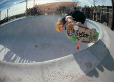 Tony Alva and I nimbly moved through traffic. We were going to skate a pool. As reggae music wa… Old School Skateboards, Vintage Skateboards, Alva Skateboards, Skateboard Photos, Skate Photos, Empty Pool, Skate And Destroy, Z Boys, Blue Tiles