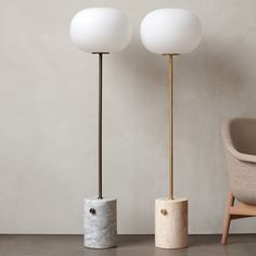 Inspired by traditional oil lamps, JWDA is a collection of floor lights featuring contrasting materials and an elegant yet bold design. Leather Stool, Lighting Sale, Travertine, Oil Lamps, Danish Design, Lamp Design, Glass Shades, Teapot, Floor Lamp