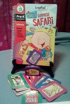 Leap Frog, LeapPad Stanley Surprise Safari Pre-K Science book & cartridge in Toys & Hobbies | eBay