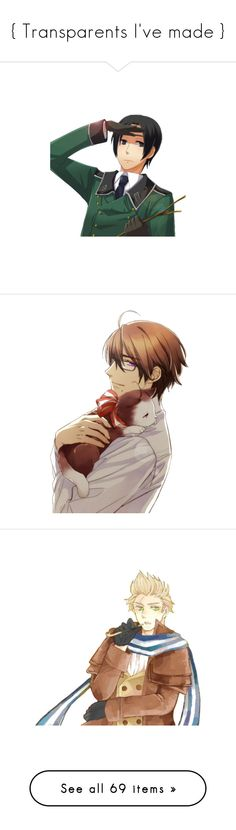 """""""{ Transparents I've made }"""" by akihabara ❤ liked on Polyvore featuring hetalia, aph bulgaria, anime, aph belgium, render, drawings, aph kugelmugel, aph italy, aph hong kong and aph romania"""