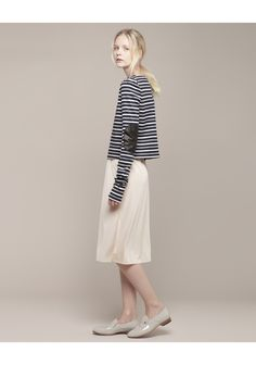 Organic by John Patrick / Striped Pullover