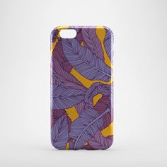 Banana Leaves iPhone 6 Case, hipster iPhone 6 case, cool iphone 6 case, floral iPhone 6 case, floral print, iphone cover, bumper case