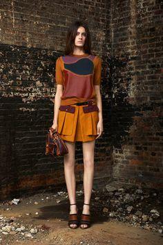 Proenza Schouler Resort 2012 Fashion Show - Erjona Ala