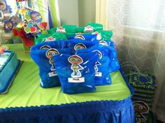 Super why goodie bags