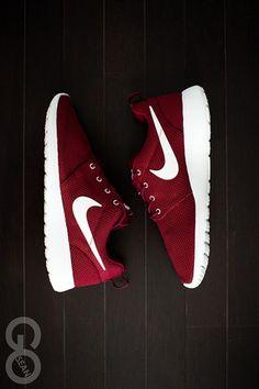 """maxhellasick:  Nike Roshe Run """"Team Red"""" http://www.kicksonfire.com/2013/05/27/nike-roshe-run-team-red/"""