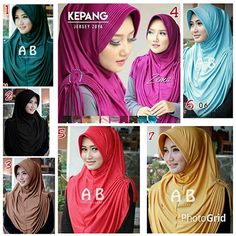 Hijab Instan Rumana Kepang