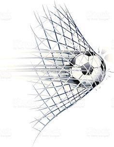 soccer goal royalty-free stock vector art