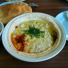 Poetry. Best Hummus dish in Israel: Abu-Hassan Ali Karavan in Jaffa