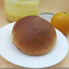 Wheat Germ Bread With Orange Curd