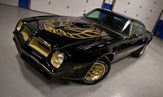 1976 Pontiac Trans Am. Awesome American Muscle Car! Smokey and the Bandit style!
