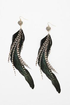 34 Feathered Hairstyles Feather Earrings Ethnic Fashion Bird Feathers