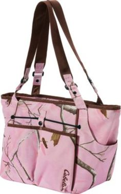 I have in grey and the pink camo. Love this bag.