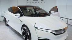 Honda FCV Concept makes debut in Detroit, refuels in 5 mins