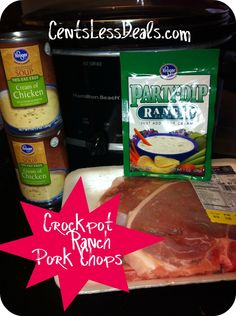 Crockpot Ranch Porkchops - CentsLess Deals